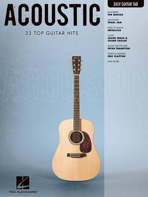 Acoustic: 33 Top Guitar Hits (Paperback)