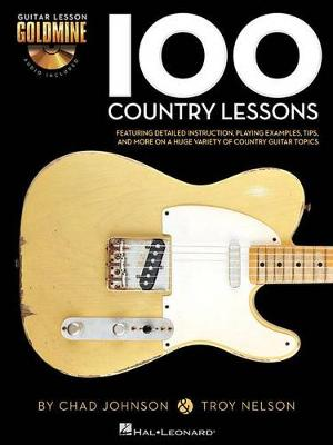 Johnson & Nelson: 100 Country Lessons (Book/Online Audio) (Paperback)
