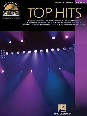 Piano Play-Along Volume 109: Top Hits (Paperback)
