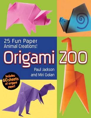 Origami Zoo: 25 Fun Paper Animal Creations (Paperback)