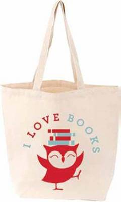 I Love Books Littlelit Tote Bag