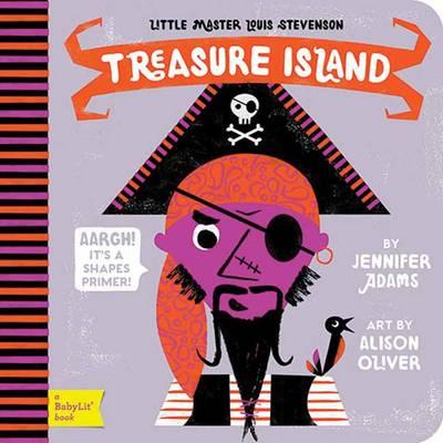 Cover of the book, Treasure Island.