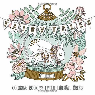 Fairy Tales Coloring Book (Paperback)