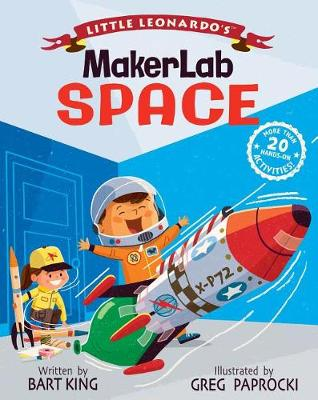 Little Leonardo's MakerLab Space - Little Leonardo (Hardback)