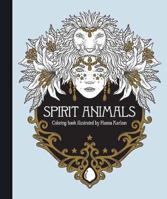 Spirit Animals Coloring Book (Hardback)