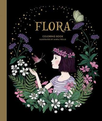 Flora Coloring Book (Hardback)
