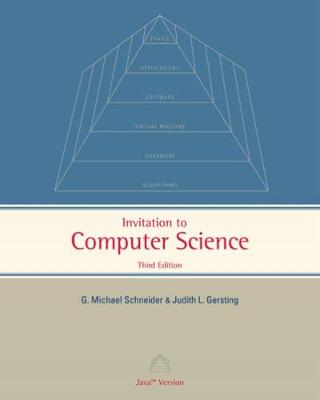 Invitation to Computer Science: Java Version (Paperback)