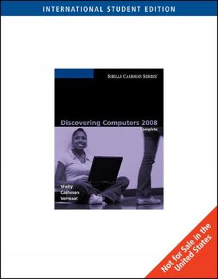 Discovering Computers 2008: Complete, International Edition (Paperback)