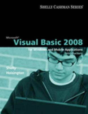 Microsoft (R) Visual Basic 2008: Introductory Concepts and Techniques (Paperback)