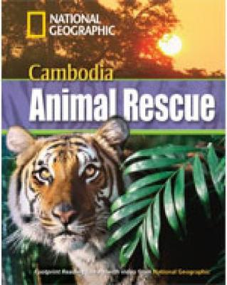 Cambodia Animal Rescue + Book with Multi-ROM: Footprint Reading Library 1300