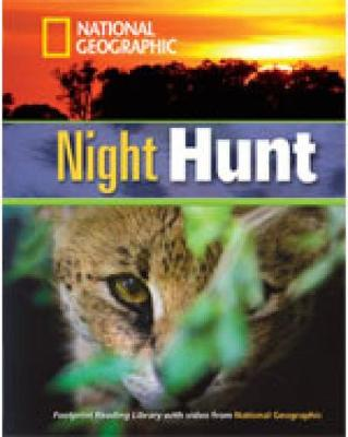 Night Hunt + Book with Multi-ROM: Footprint Reading Library 1300
