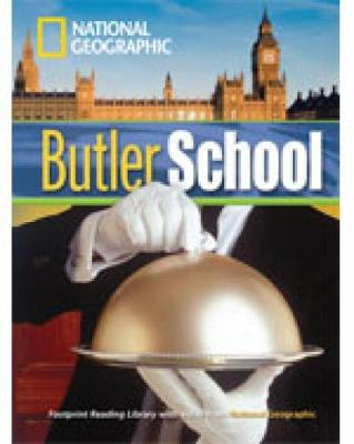 Butler School (Book with Multi-ROM): Footprint Reading Library 1300