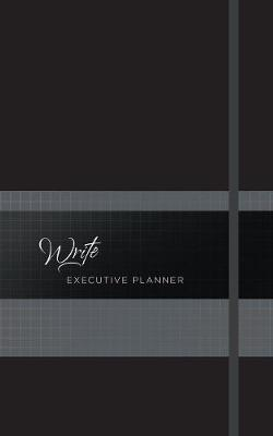 2019 16-Month Weekly Planner: Write Executive (Onyx): Exquisite Faux Leather Planner (Book)
