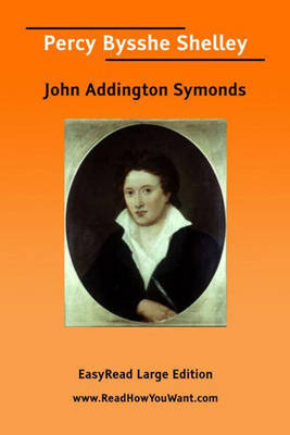 Percy Bysshe Shelley (Paperback)