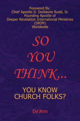 So You Think... (Paperback)