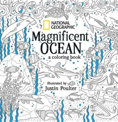 Through the lens by national geographic waterstones Colouring books for adults waterstones