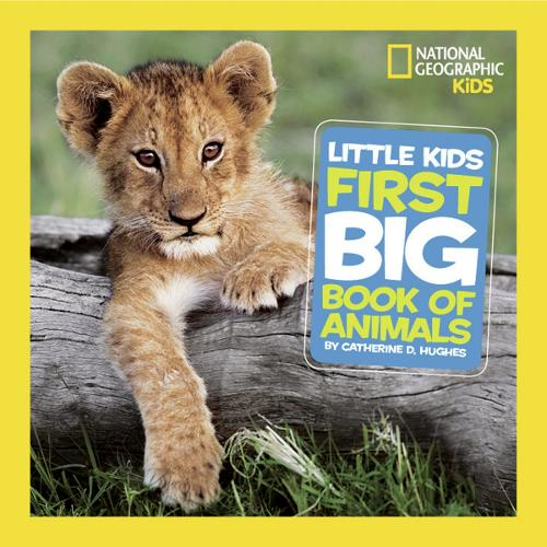 Little Kids First Big Book of Animals - National Geographic Kids (Hardback)