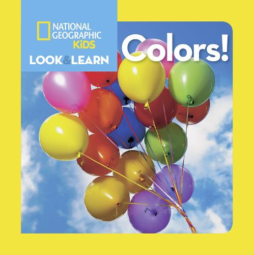 Look and Learn: Colours - Look&Learn (Board book)