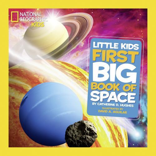 Little Kids First Big Book of Space - First Big Book (Hardback)
