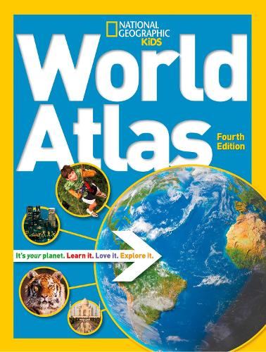 National Geographic Kids World Atlas - Atlas (Hardback)