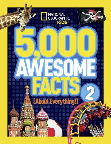 5,000 Awesome Facts (About Everything!) 2 - 5,000 Awesome Facts (Hardback)