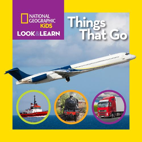 Look and Learn: Things That Go - Look&Learn (Board book)