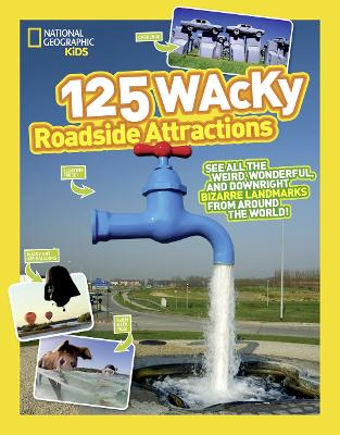 125 Wacky Roadside Attractions: See All the Weird, Wonderful, and Downright Bizarre Landmarks from Around the World! - 125 (Paperback)