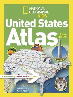 National Geographic Kids United States Atlas - Atlas (Paperback)