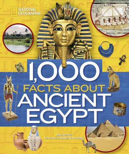 1,000 Facts About Ancient Egypt (Hardback)
