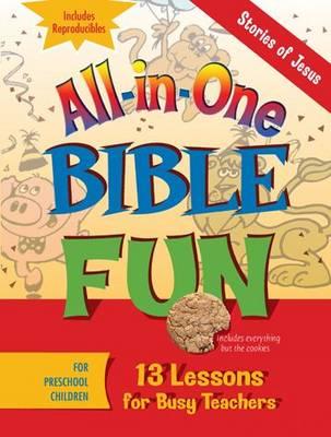 All-in-one Bible Fun Preschool: Stories of Jesus (Paperback)