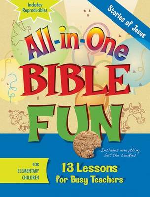 All-in-one Bible Fun Elementary: Stories of Jesus (Paperback)