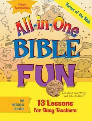 Heroes of the Bible: Preschool - All in One Bible Fun (Paperback)