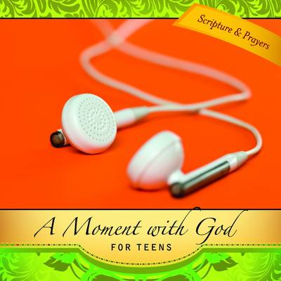 A Moment with God for Teens (Hardback)