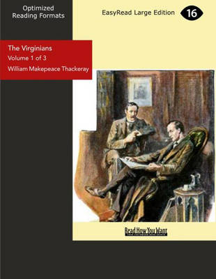 The Virginians (2 Volume Set): A Tale of the Last Century (Paperback)