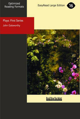 Plays: First Series (Paperback)