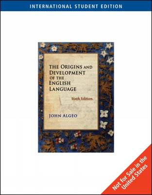 The Origins and Development of the English Language (Paperback)