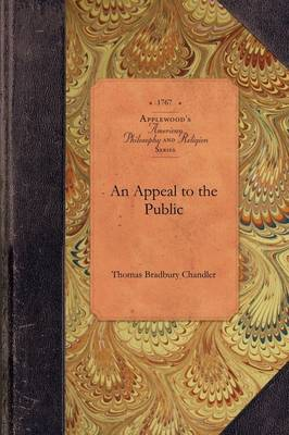 An Appeal to the Public - Amer Philosophy, Religion (Paperback)