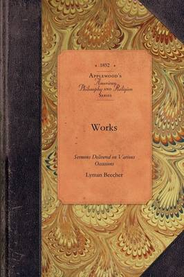 Works, Vol 1: Vol. 1 - American Philosophy and Religion (Paperback)