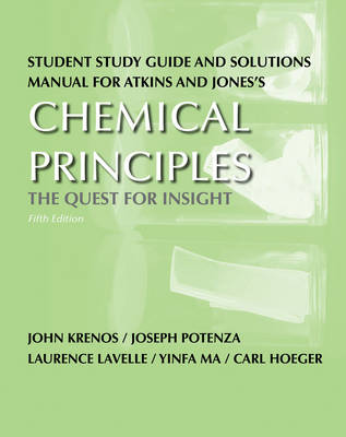 Study Guide/Solution Manual for Chemical Principles (Paperback)