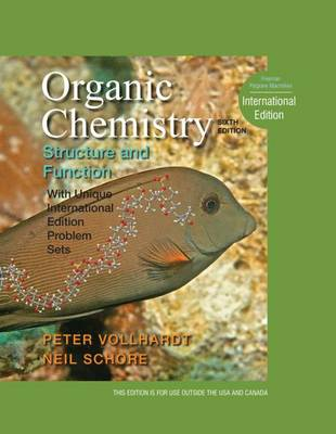 Organic Chemistry: Structure and Function (Hardback)