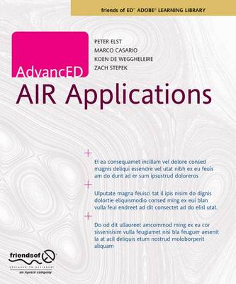 AdvancED AIR Applications (Paperback)