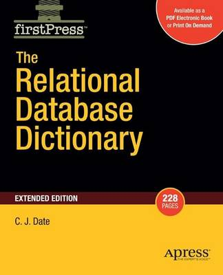 The Relational Database Dictionary, Extended Edition (Paperback)