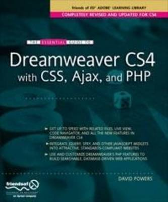 The Essential Guide to Dreamweaver CS4 with CSS, Ajax, and PHP (Paperback)