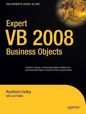 Expert VB 2008 Business Objects (Paperback)