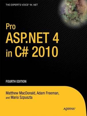 Pro ASP.NET 4 in C# 2010 (Paperback)