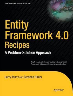 Entity Framework 4.0 Recipes: A Problem-Solution Approach (Paperback)