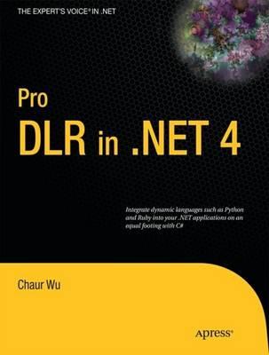 Pro DLR in .NET 4 (Paperback)