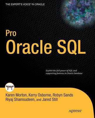 Pro Oracle SQL (Paperback)