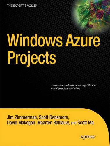 Windows Azure Projects (Paperback)