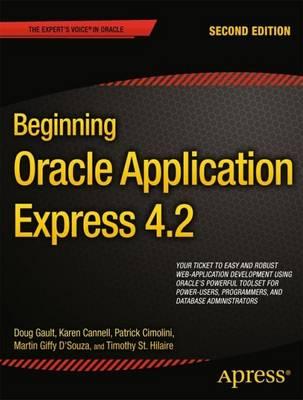 Beginning Oracle Application Express 4.2 (Paperback)